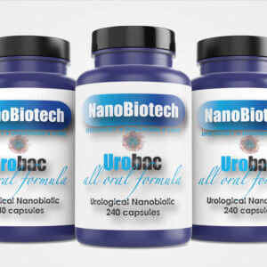 NanoBiotech Pharma - Urobac 3 Pack Nanobiotic